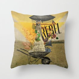 Unshackled, Rebel by Lendi Hader Throw Pillow