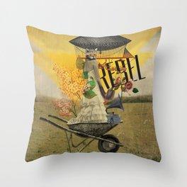 Unshackled, Rebel by Lendi Hader Throw Pillow