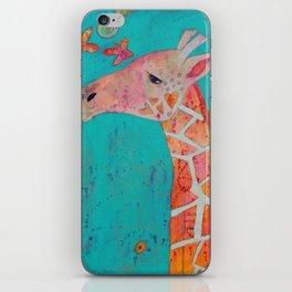 Giraffing iPhone Skin