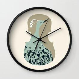 Bach Sonatas & Partitas Wall Clock