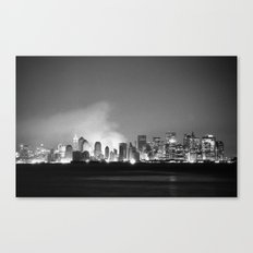The City 1: In Ruins Canvas Print
