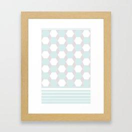 jjl; kk; Framed Art Print