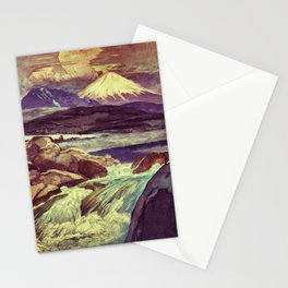 The Rising Fall Stationery Cards