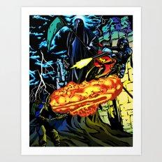 Ninjapocalypse Art Print