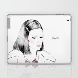 Gwyneth Paltrow (as Margot Tenenbaum) - Melancholia Serie Laptop & iPad Skin