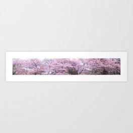 The Cherry Blossom, Tokyo Art Print