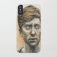 kieren walker iPhone & iPod Cases featuring Kieren Walker by laya rose
