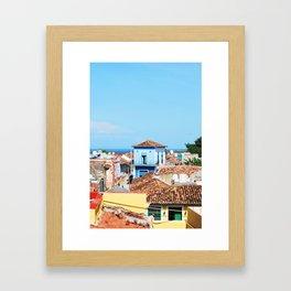 68. Trinidad on the Ocean, Cuba Framed Art Print