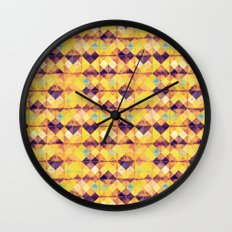 Pretty tiles Wall Clock