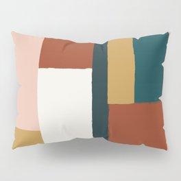 Spring Color Block Pillow Sham