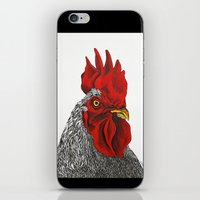 cock iPhone & iPod Skins featuring cock by bmkoc