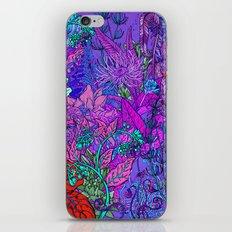 Electric Garden iPhone Skin