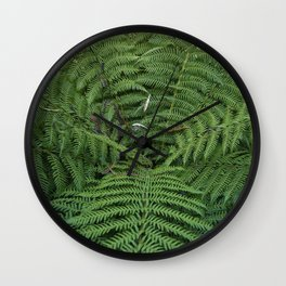 Giant Fern Wall Clock