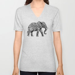 Ornate Elephant 3.0 Unisex V-Neck