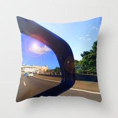 Rear Vision II Throw Pillow