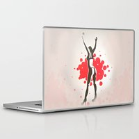 florence Laptop & iPad Skins featuring Florence by Gabby Grife | GuinArt