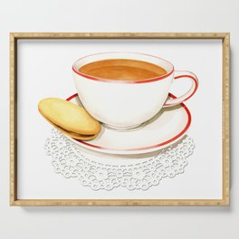 Cup of Tea and a biscuit Serving Tray