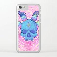 Mana Skull 2 Clear iPhone Case