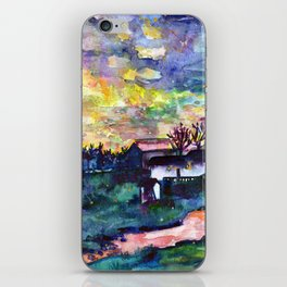 Winter  Farm iPhone Skin