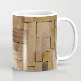 Wood bas-relief Coffee Mug