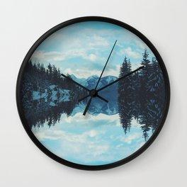 British Columbia Reflections Wall Clock