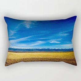 Teton Landscape Rectangular Pillow