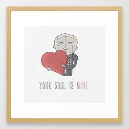 Your Soul Is Mine Framed Art Print