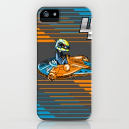 Lando Cal-Norris-ian iPhone Case