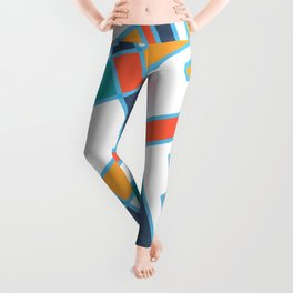 Paris street Leggings
