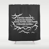 jesus Shower Curtains featuring JESUS  by Pedro A Ribeiro