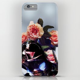 The Floral Awakens - Darth Vader iPhone Case
