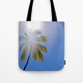 Sun Palm Tote Bag