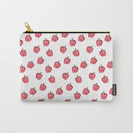 Red Pepper Watercolour Pattern Carry-All Pouch