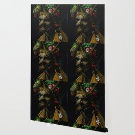 "Giuseppe Arcimboldo ""Four Seasons in One Head"" Wallpaper"