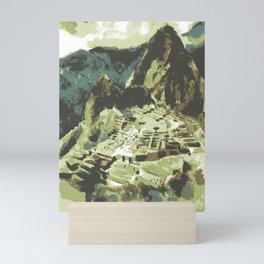 Machu Picchu Peru Mini Art Print