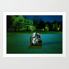 Speculation Art Print