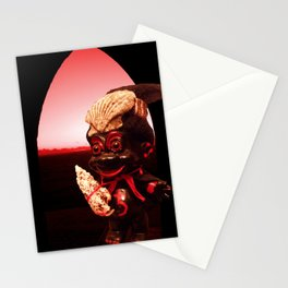 Black Troll Stationery Cards