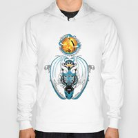 skyfall Hoodies featuring Cosmic Smoking Skyfall Dragon by Pr0l0gue
