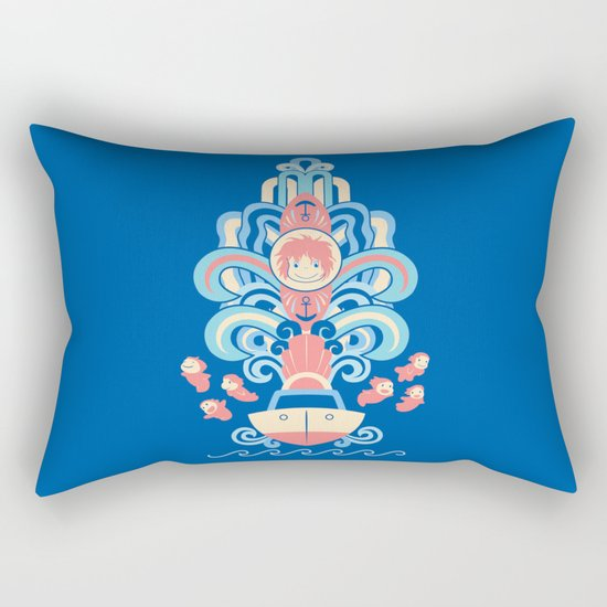 Ponyo Deco Rectangular Pillow
