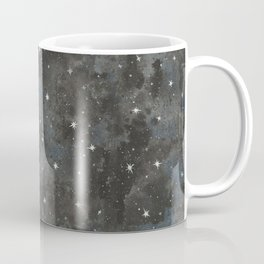Watercolor Black Starry Sky Robayre Coffee Mug