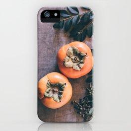 Persimmon iPhone Case