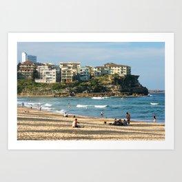 Queenscliff Beach, Sydney Art Print