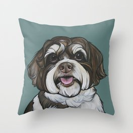 Wallace the Havanese Throw Pillow