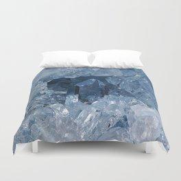 Blue Gemstone Duvet Cover