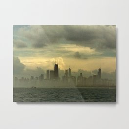 Foggy Michigan Sea #4 Metal Print
