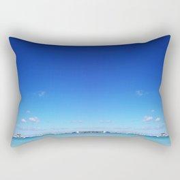 Beach and Sky Rectangular Pillow