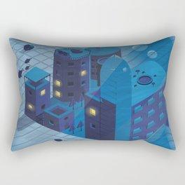 Sunken town Rectangular Pillow