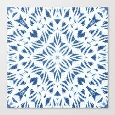 Arrowhead Denim White Canvas Print