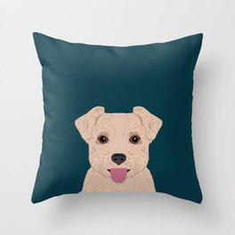 Blair - Norfolk Terrier gifts for dog lovers and pet owner gift ideas. Dog people gifts Throw Pillow