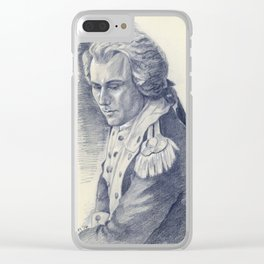 Lt. Colonel Hamilton Clear iPhone Case